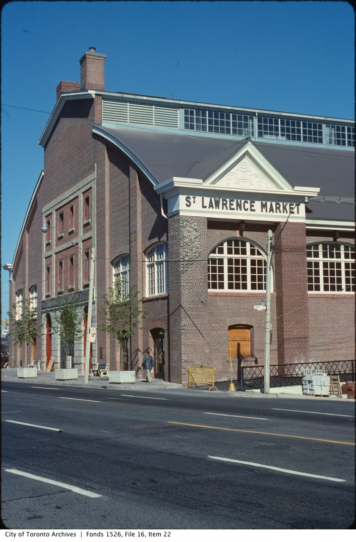 St. Lawrence Market and The Esplanade. - April 10, 1971-February 14, 1982